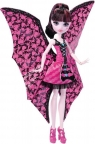 MONSTER HIGH Draculaura Wampiskrzydła 2w1 (DNX65)