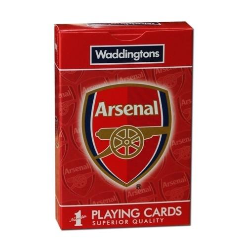 Karty do gry Waddingtons No.1 Arsenal FC (Uszkodzone opakowanie)