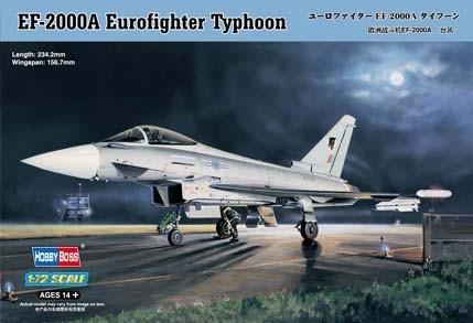 Model plastikowy EF-2000 Eurofighter Typhoon (81901)