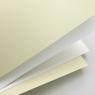 Papier ozdobny (wizytówkowy) Galeria Papieru gładki biały A4 250g