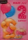 Karnet 2 latka dziewczynka 3DV-067