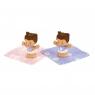 Little People: Figurki bliźniaki bobasy z akcesoriami - motyw jednorożca