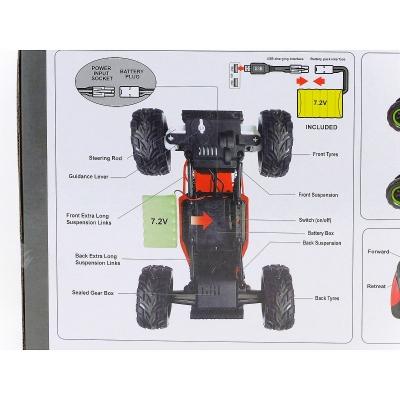 Samochód Adar terenowe na radio z akumulatorem (426917)