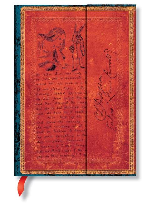 Notatnik Lewis Carroll, Alice in Wonderland Midi Linia