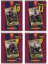 Zeszyt A5 FC Barcelona Barca Fan 3 w kratkę 16 kartek 20 sztuk