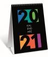 Kalendarz 2021 biurkowy pionowy WTV TOP2000