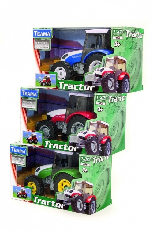 Teama traktor zielony 1:32