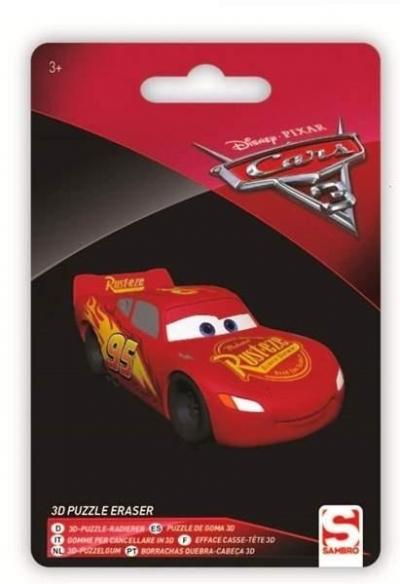 Figurka - gumka do mazania Cars 3 McQueen
