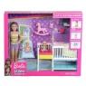 Barbie Skipper: Zestaw opieka nad maluszkiem + lalka (GFL38)