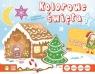 Kolorowe święta 1 z ozdobami świątecznymi