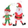 Dekoracja świateczna Mikołaj/ Elf