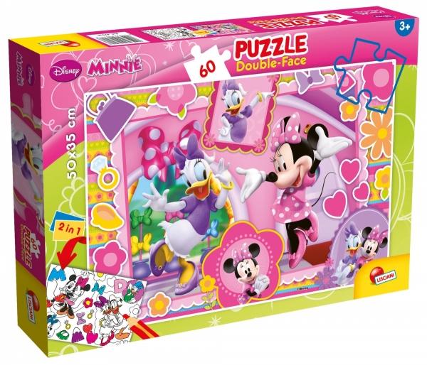 Puzzle dwustronne 60 - Minnie (304-47918)