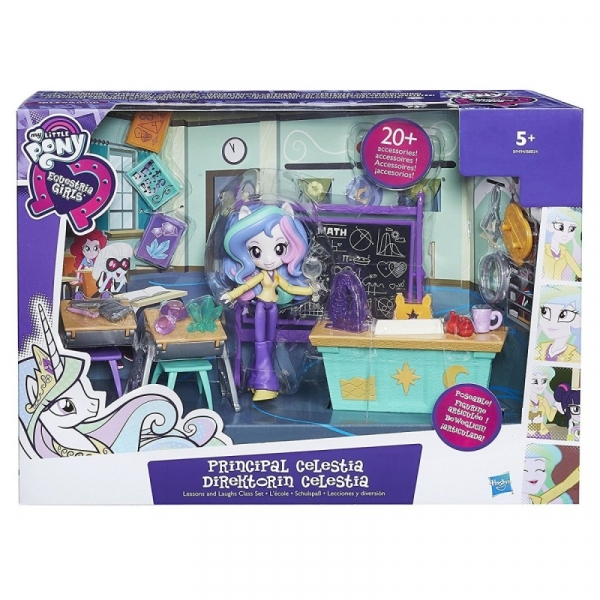 My Little Pony Equestria Girls Mini Lekcja z Celstią (B9494P)