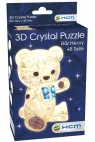 Crystal puzzle Miś Henry brązowy