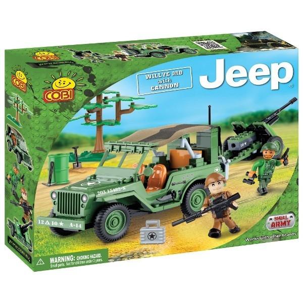 COBI Jeep Willys MB z dz iałkiem