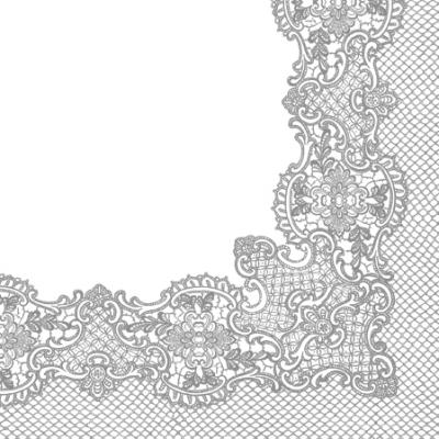 Serwetki Royal Lace Silver  SDL089208