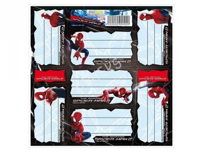 Nalepki na zeszyty Spiderman Homecoming