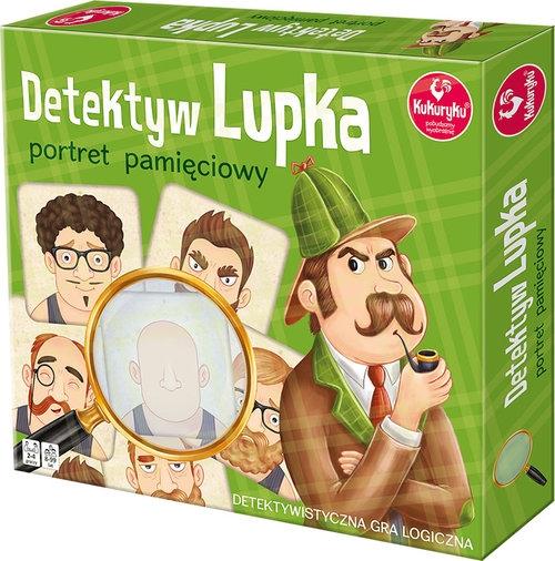 Detektyw Lupka portret pamięciowy