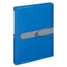 Teczka A4 PP z gumką Easy Orga - niebieska (11206125)