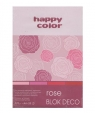 Blok Deco Rose Color A5