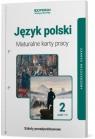 Maturalne karty pracy. Język polski. Klasa 2. Część 1 i 2. Linia I. Zakres praca zbiorowa