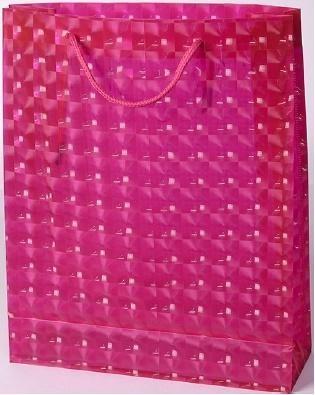 Torebka prezentowa M różowa 0115-01