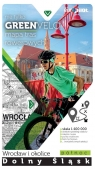 Dolny Śląsk-Wrocław i okolice - pólnoc mapa tras rowerowch