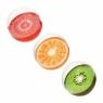 Piłka plażowa Dajar 3 wzory owoców : kwi, pomarańcza, truskawka (BW-31042)