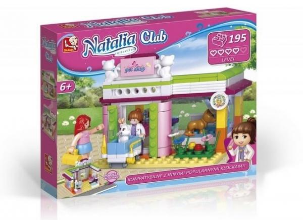 Klocki Natalia - sklep zoologiczny 195 elementów (118920)