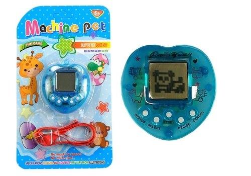Gra Elektroniczna Tamagotchi + Smycz Niebieska