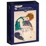 Puzzle 1000: Siedząca kobieta, Egon Schiele, 1917