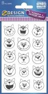 Naklejki kreatywne - Koty (56092)