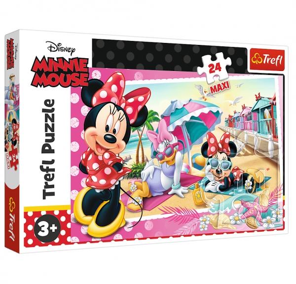 Puzzle Maxi 24: Wakacje Minnie (14292) (Uszkodzone opakowanie)