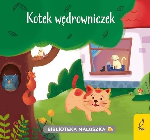 Biblioteka maluszka. Kotek wędrowniczek praca zbiorowa