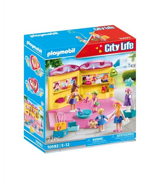 Playmobil City Life: Modny butik z odzieżą dla dzieci (70592)