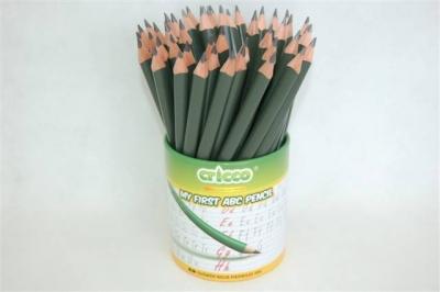 Ołówek Cricco trójkątny. Moje pierwsze ABC (CR317)