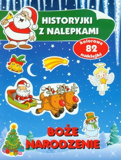 Boże Narodzenie. Historyjki z nalepkami Anna Wiśniewska
