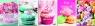 Zeszyt A5 Pastel Colours w kratkę 80 kartek 5 sztuk mix