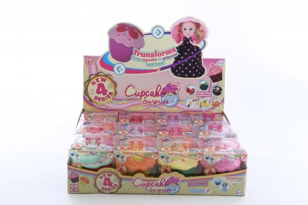 Cupcake - Babeczka z niespodzianką seria 4