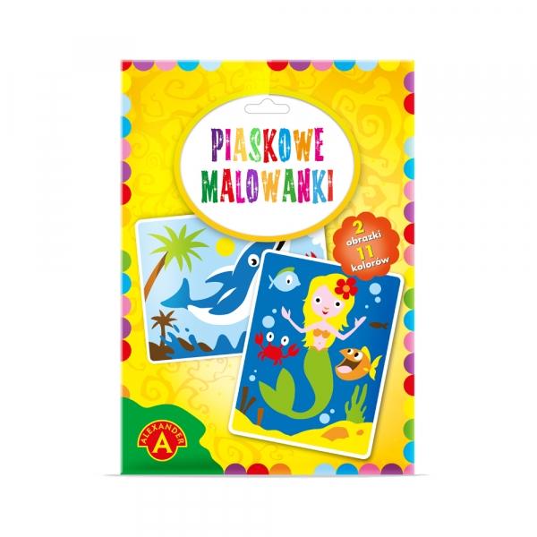 Piaskowe Malowanki - syrenka, delfin (2092)