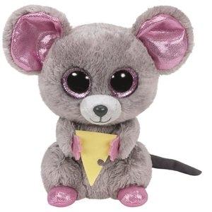 Maskotka Beanie Boos: Squeaker - Myszka z serem 15 cm (36192)