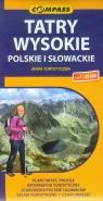 Tatry Wysokie. Polskie i Słowackie. Mapa turystyczna w skali 1:30 000