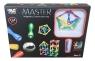 Klocki magnetyczne Master 124 elementy