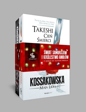 Pakiet: Świat Samurajów i Królestwo Aniołów Maja Lidia Kossakowska