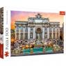 Puzzle 500: Fontanna di Trevi, Włochy (37292)