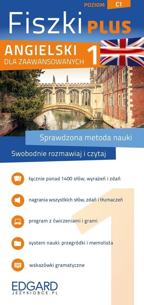 Angielski Fiszki PLUS dla zaawansowanych 1 Puszczak Monika Ewa, Olizarowicz-Strygner Monika