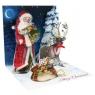 Kartki 3D - Father Christmas (1099)