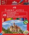 Kredki Zamek 48 kolorów + temperówka (120148)
