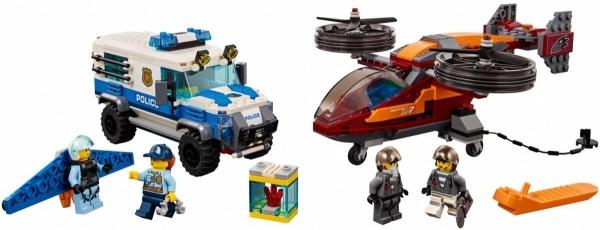 LEGO City: Rabunek diamentów (60209)