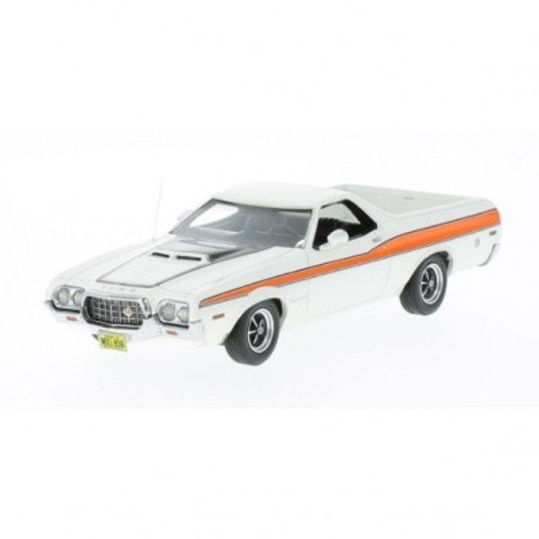 Ford Ranchero GT 1972 (white/orange) (44856)